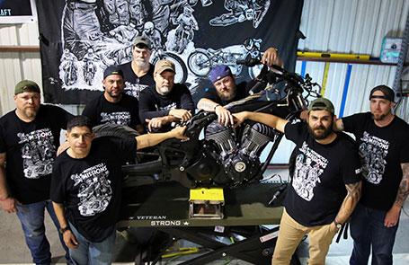 """Indian Motorcycle & Motorcycle Missions Announce Texas-Sized """"Motorcycle Therapy"""" Build Off"""