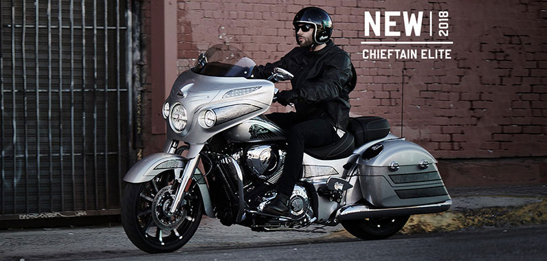 Indian Motorcycle Chieftain Elite 2018