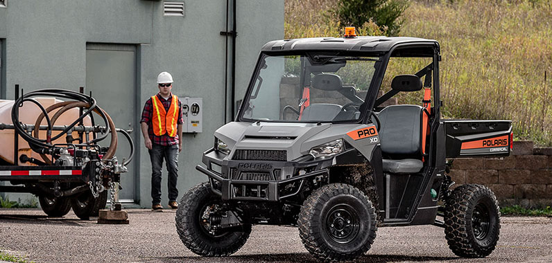 Polaris Launches Industry Leading Work Utility Vehicle PRO