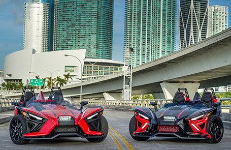 Polaris Takes Slingshot To The Next Level With Dynamic Redesign, All-New Powertrain & Autodrive Transmission