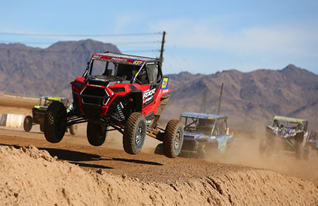 Polaris <em>RZR®</em> Factory Racing Sweeps First Place at WORCS SXS World Finals