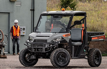 Polaris® Launches Industry Leading Work Utility Vehicle: PRO XD™