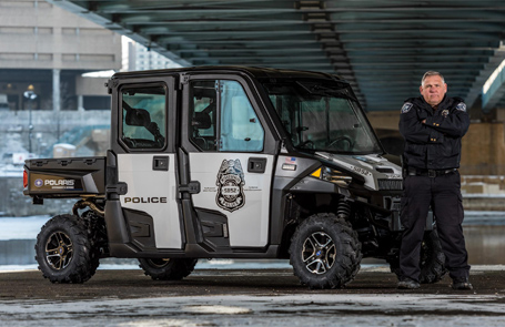 Super Bowl® LIVE Law Enforcement Team to Use Polaris® Police <em>RANGERs</em>