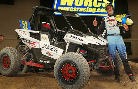 Polaris <em>RZR®</em> Factory Racing Team Sets New Record for Most Wins