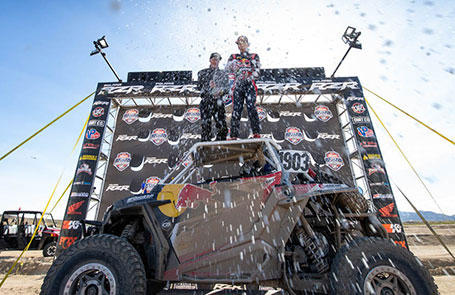 Polaris RZR<sup>®</sup> Racing Wins at UTV World Championship and SCORE San Felipe 250 Season Opener