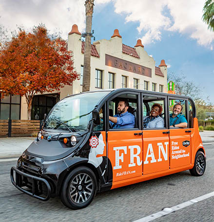 Anaheim Electric Microtransit Service