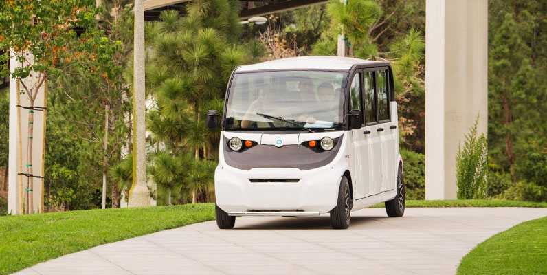 Electric Vehicles Hum Forward At Gem