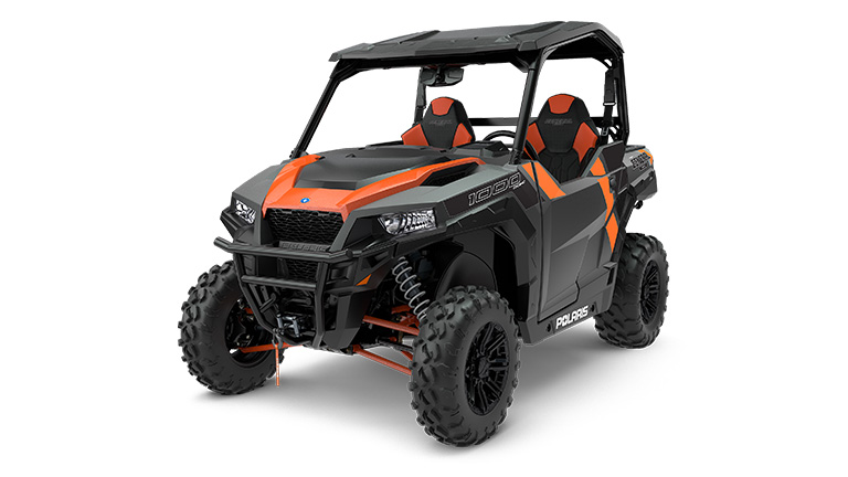 POLARIS GENERAL® 1000 DELUXE TITANIUM METALLIC
