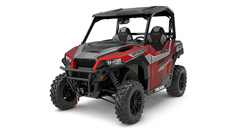 POLARIS GENERAL® 1000 RIDE COMMAND EDITION MATTE SUNSET RED