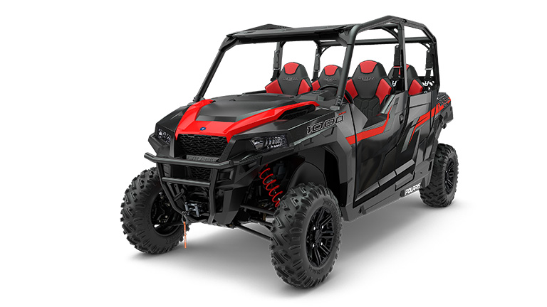 POLARIS GENERAL® 4 1000 EPS BLACK PEARL