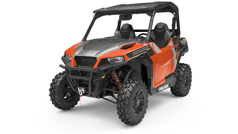 Polaris GENERAL 1000 EPS Deluxe Orange Rust