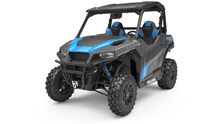 Polaris GENERAL 1000 EPS Deluxe Titanium Metallic