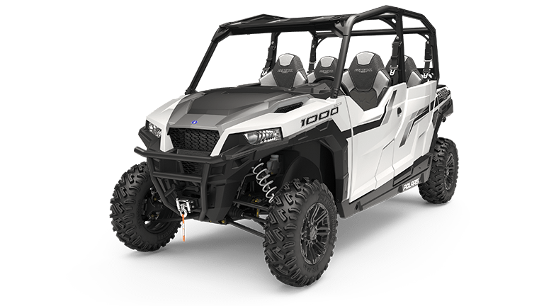 Polaris GENERAL 4 1000 EPS Matte White Metallic