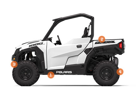 2020 Polaris GENERAL 1000 EPS Rec SxS | Polaris