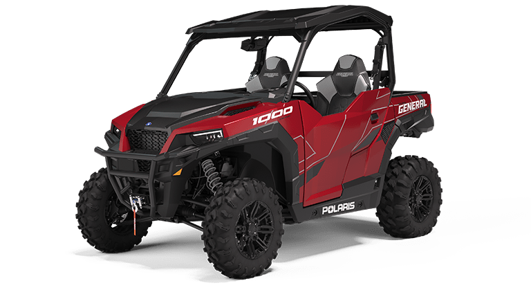 Polaris GENERAL 1000 Deluxe Sunset Red