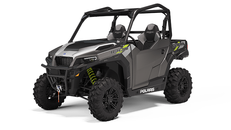 Polaris GENERAL 1000 Premium Matte Titanium Metallic