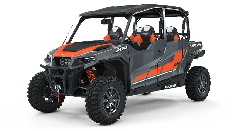 Polaris GENERAL XP 4 1000 Deluxe Stealth Grey