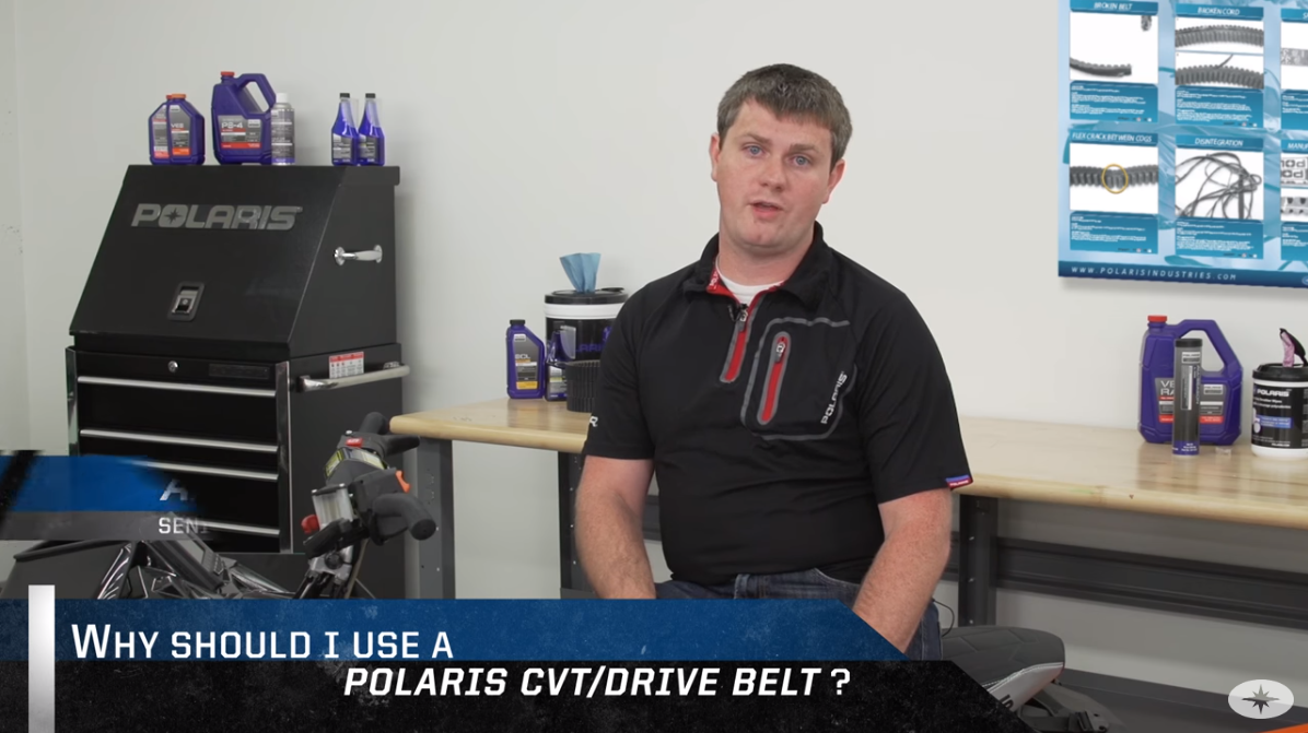 Why Should I Use A Polaris CVT/Drive Belt