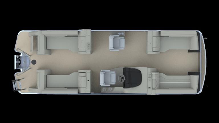 Fine Sanpan Split Bench Models Godfrey Pontoon Boats Alphanode Cool Chair Designs And Ideas Alphanodeonline