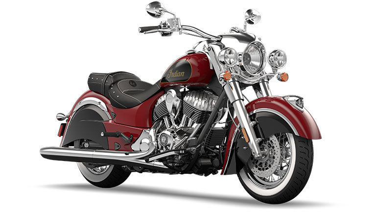 Indian Chief Classic Indian Red and Thunder Black