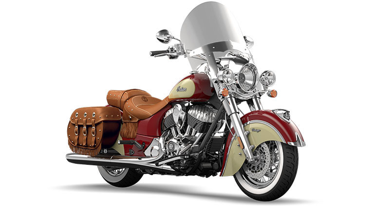 Indian Chief Vintage Indian Red and Ivory Cream