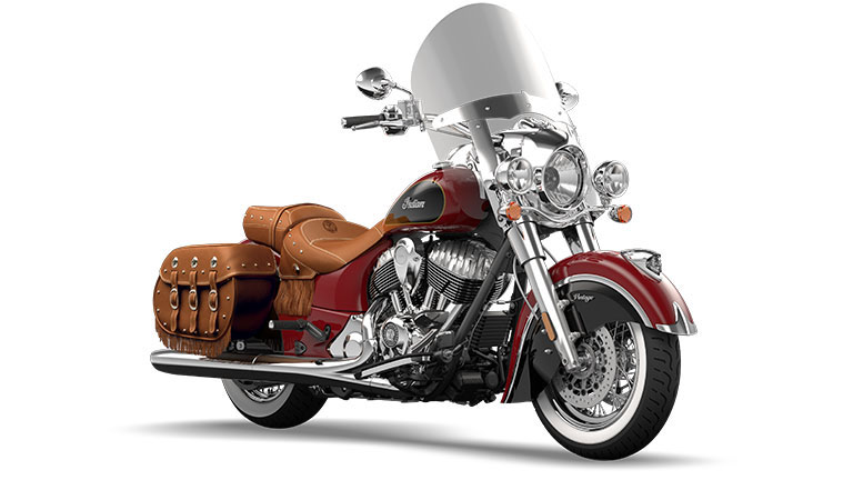 Indian Chief Vintage Indian Red and Thunder Black