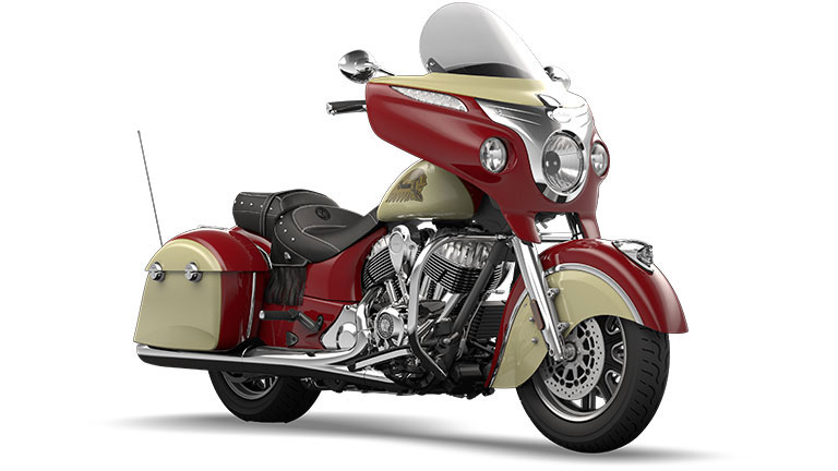 Indian Chieftain Indian Red and Ivory Cream