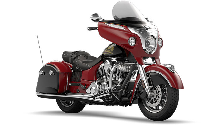 Indian Chieftain Indian Red and Thunder Black