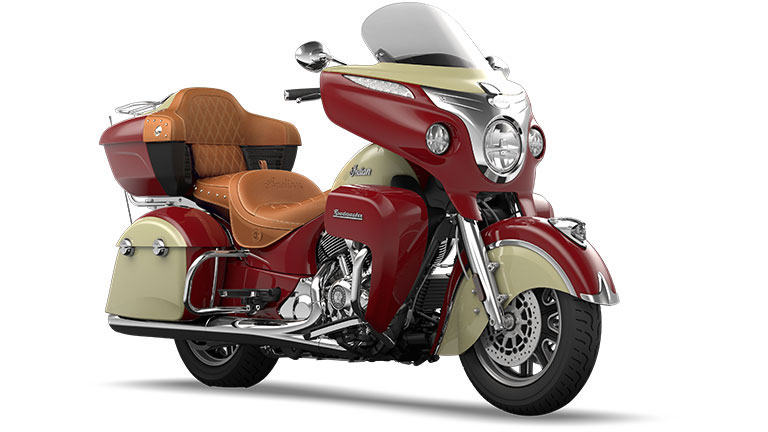 Indian Roadmaster Indian Red and Ivory Cream