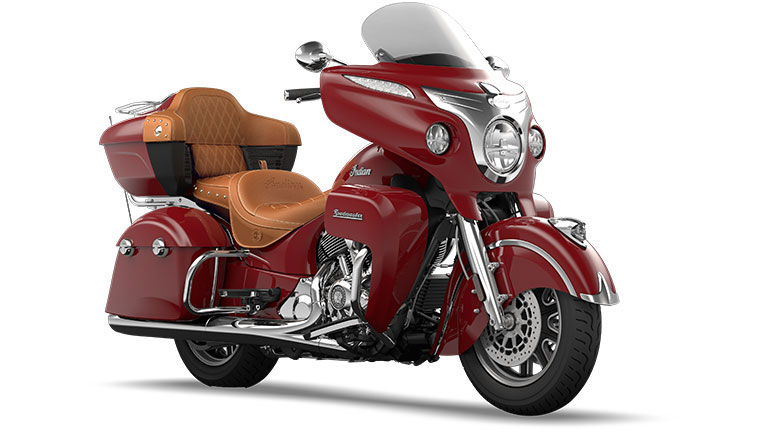 Indian Roadmaster Indian Red