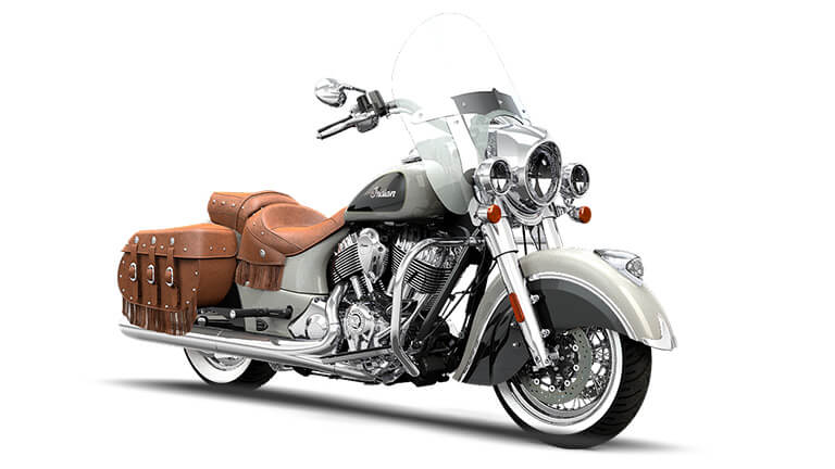 Indian Chief Vintage Star Silver and Thunder Black