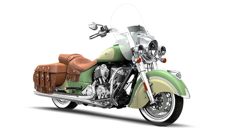 Indian Chief Vintage Willow Green and Ivory Cream