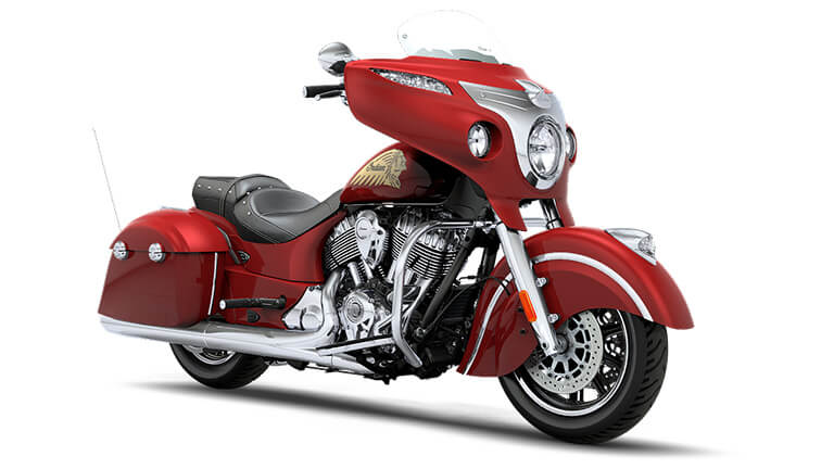Indian Chieftain Indian Motorcycle Red