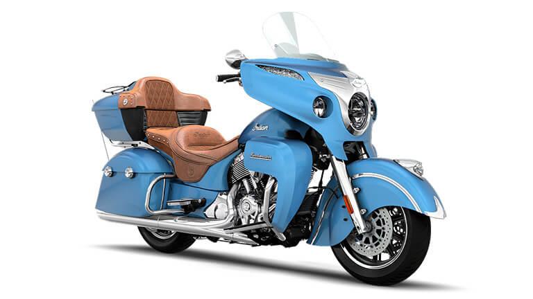 Indian Roadmaster Blue Diamond