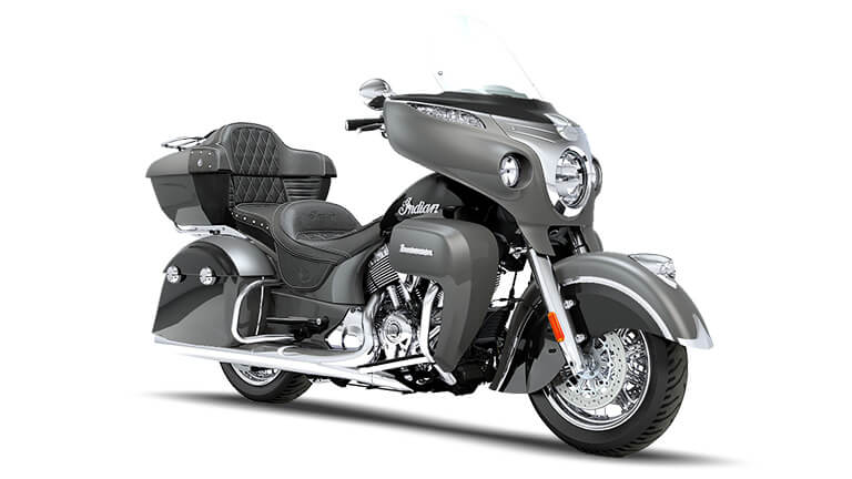 Indian Roadmaster Steel Gray and Thunder Black