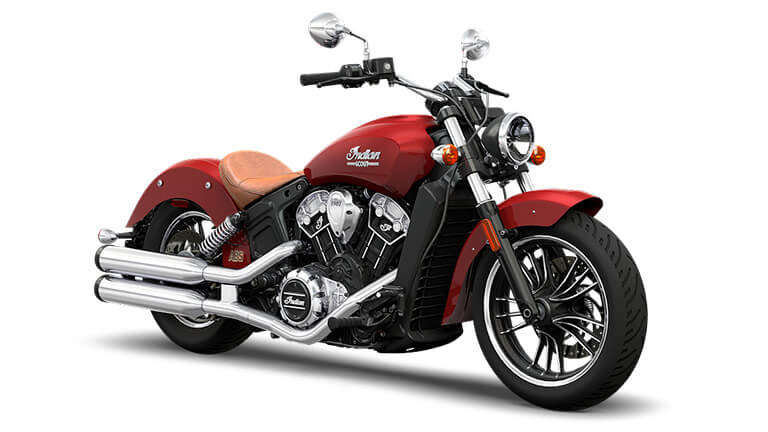 Indian Scout Red