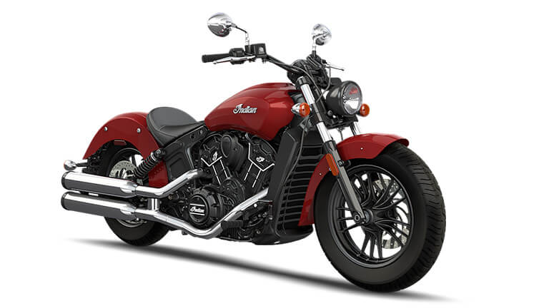 Indian Scout Sixty Indian Motorcycle Red