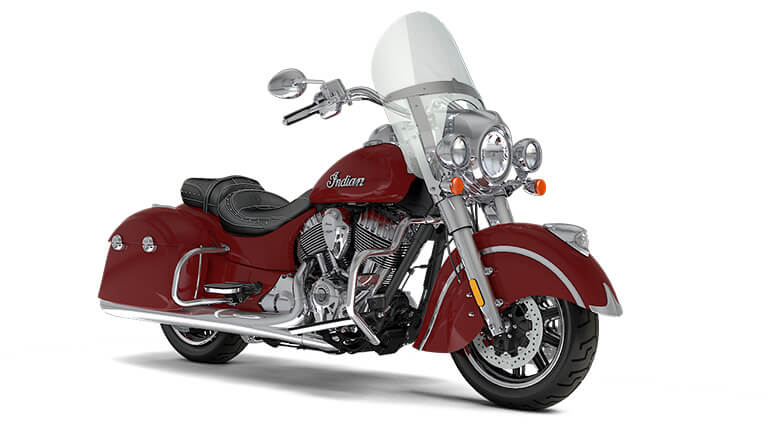 Indian Springfield Indian Motorcycle Red