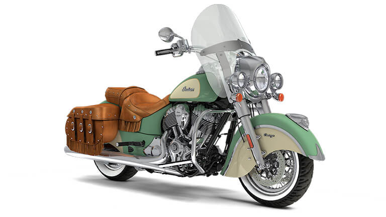 Indian Chief Vintage Willow Green over Ivory Cream
