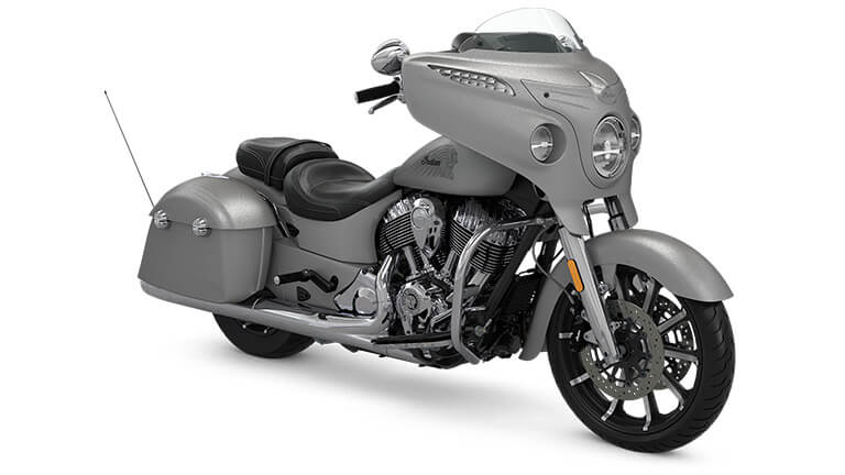 Indian Chieftain Limited Silver Smoke