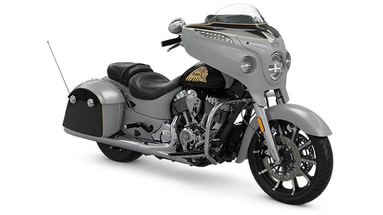 Indian Chieftain Limited Star Silver over Thunder Black