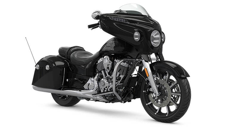 Indian Chieftain Limited Thunder Black