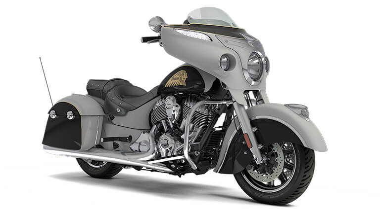 Indian Chieftain Star Silver over Thunder Black