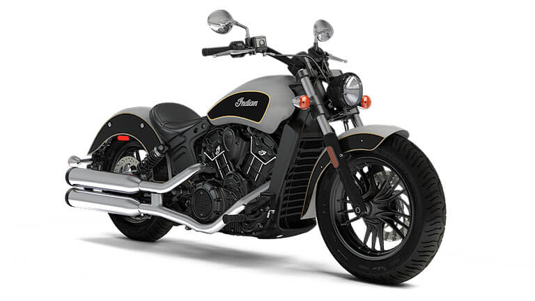 Indian Scout Sixty Star Silver Thunder Black