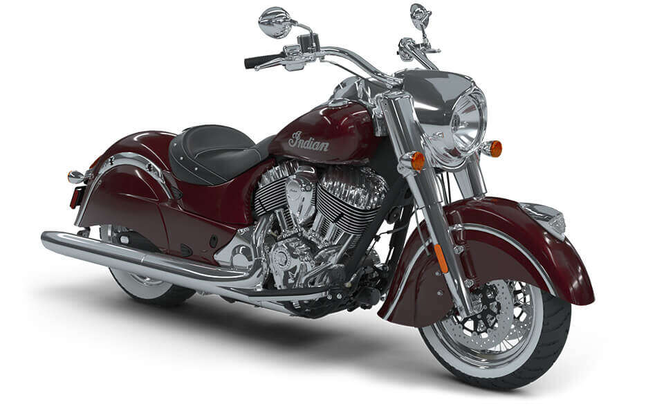 Indian Chief Classic Burgundy Metallic