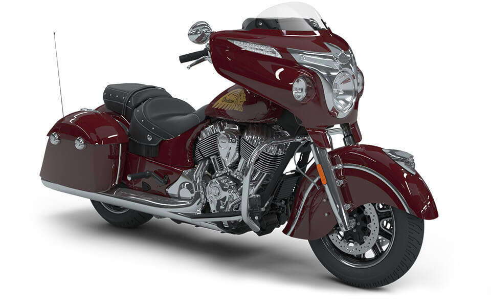 Indian Chieftain Classic Indian Motorcycle Red