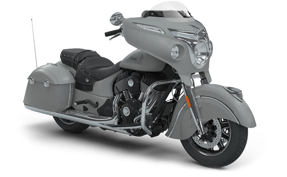 Indian Chieftain Classic Star Silver Smoke