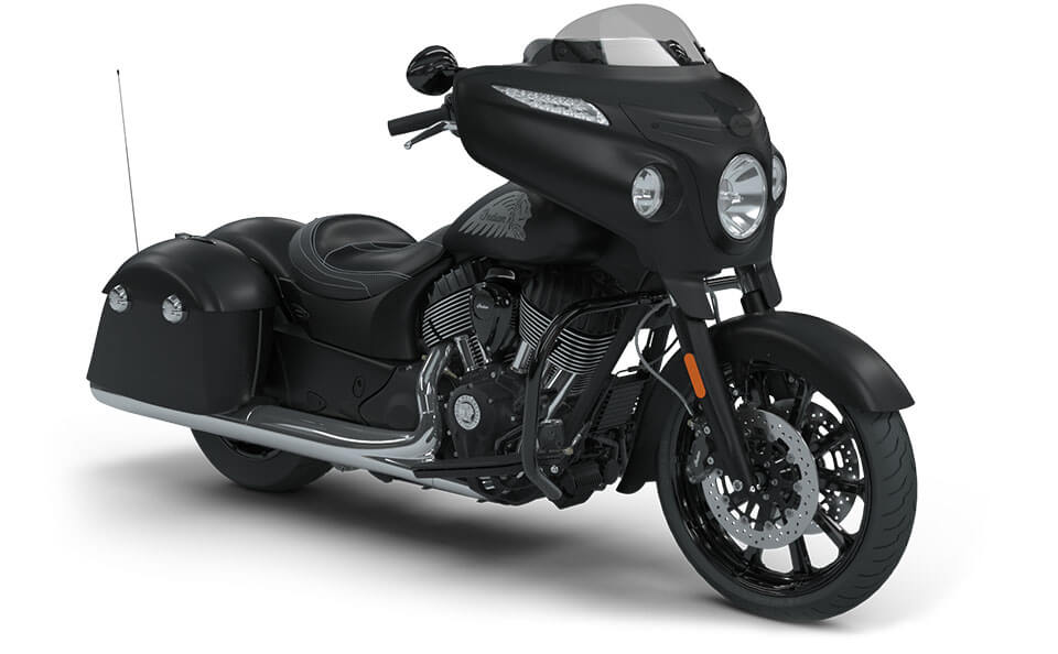 Indian Chieftain Dark Horse Thunder Black Smoke