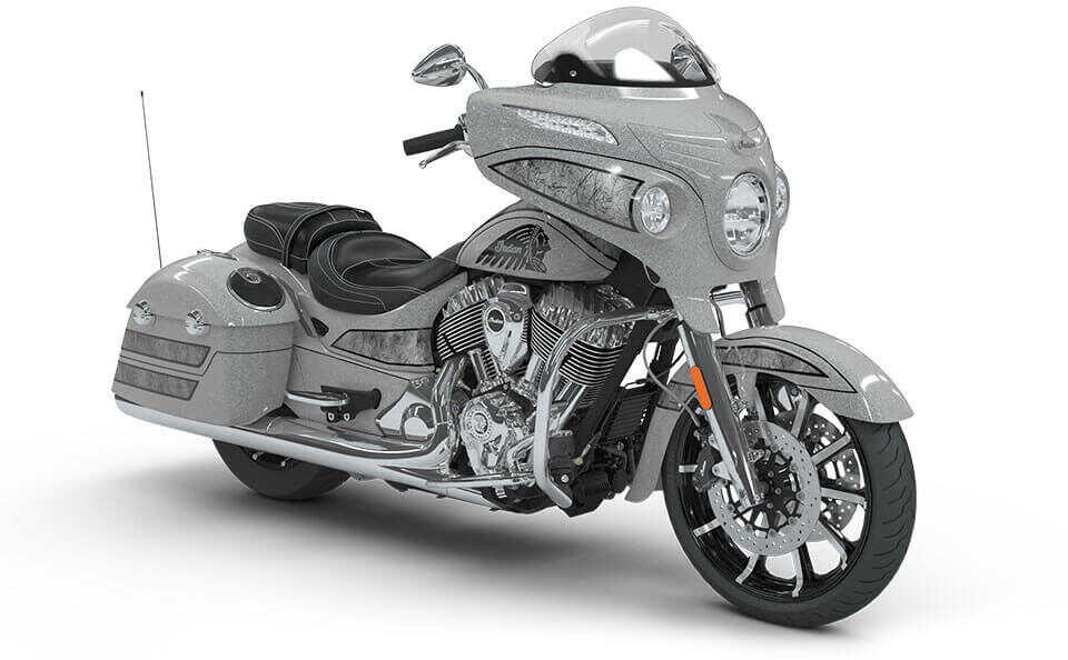 Indian Chieftain Elite Black Hills Silver w/ Marble Accents