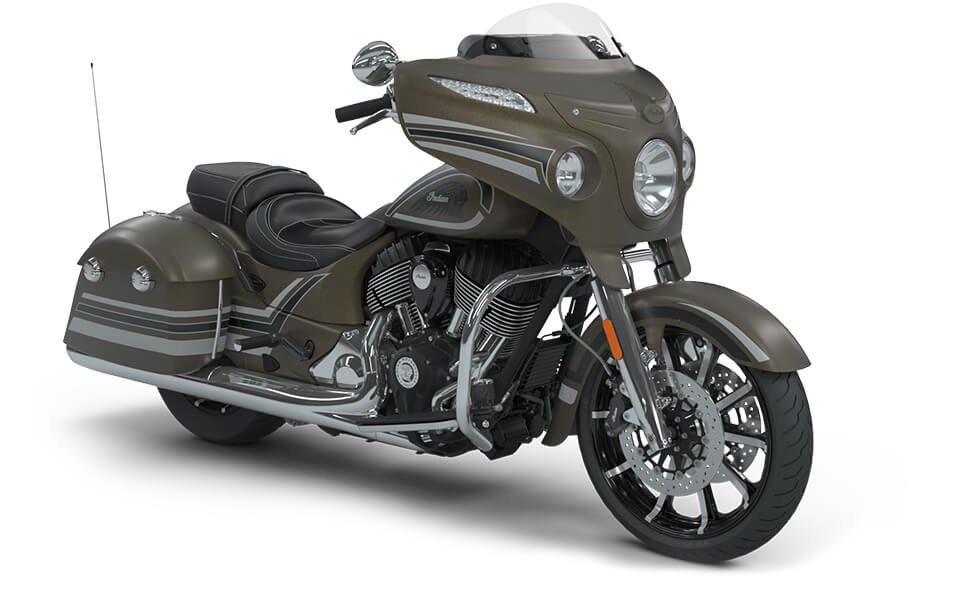 Indian Chieftain Limited Bronze Smoke with Graphics